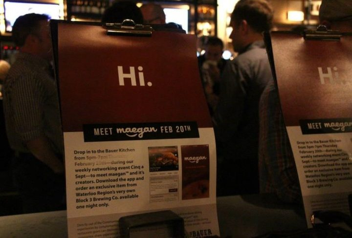 Meet maegan™: App Launch at The Bauer Kitchen